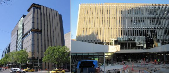 Melbourne University's building infrastructure upgrade