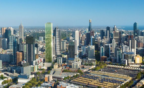 Victoria One - First of the 'CBD four' begins construction