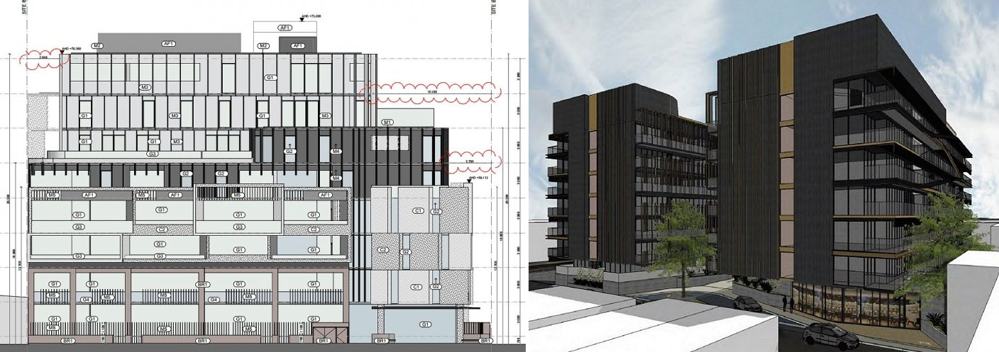Vcat rules in favour of two major melbourne developments urban 8 ballarat street alongside a conceptual 10 ballarat street malvernweather Image collections