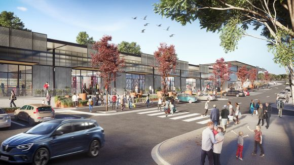 Stage One of 0M Belconnen Markets revitalisation launched