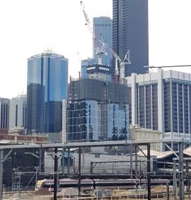 Construction photo of Premier Tower - 134-160 Spencer Street, Melbourne VIC 3000 on 19, February 2019