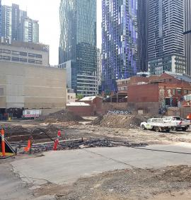 Construction photo of QVM Residences - 91-111 Therry Street, Melbourne VIC 3000 on 19, February 2019