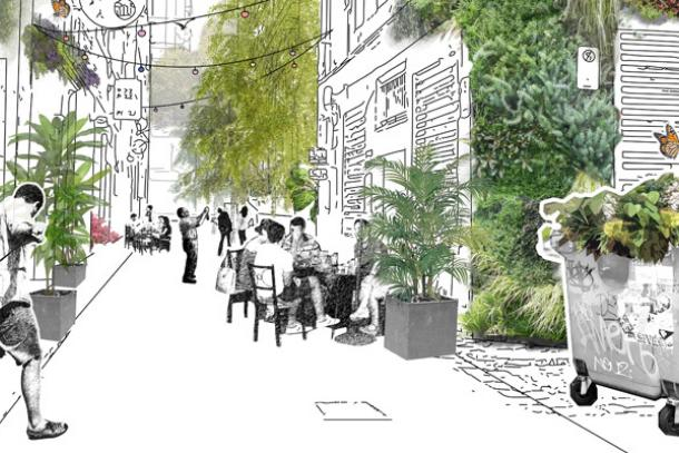 Meyers Place Concept. Image: City of Melbourne