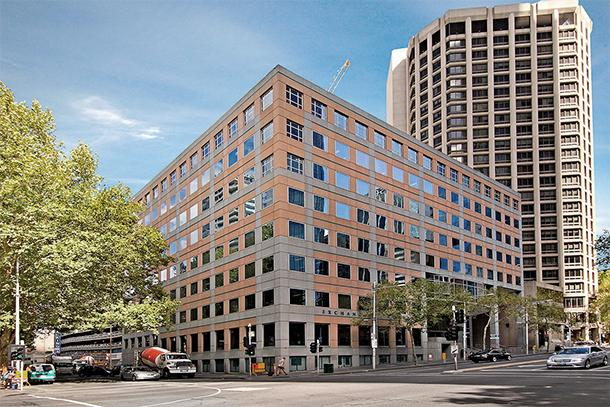 55 King Street + 555 Collins Street. Image : Colliers International