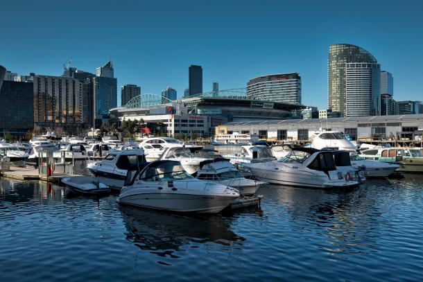 Docklands hits new a milestone while work starts on The Market