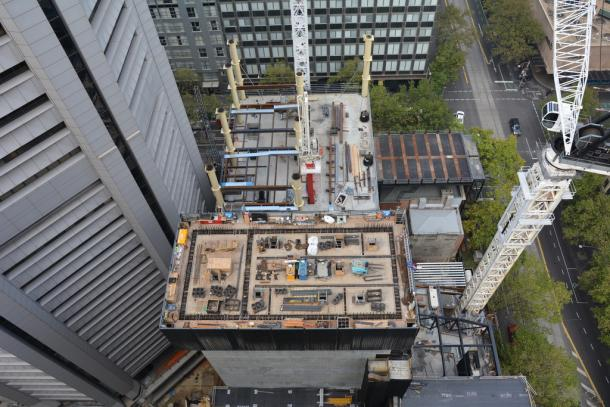 A snapshot of Melbourne's construction - May 2018