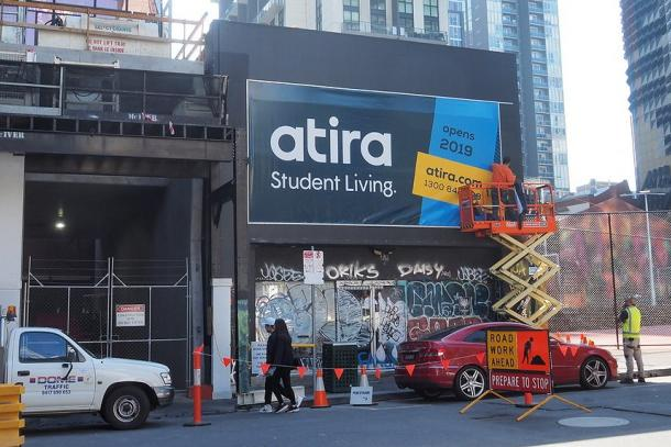 Atira hits Melbourne as further student accommodation projects line up