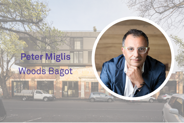 Discussing apartment design with Woods Bagot's Peter Miglis