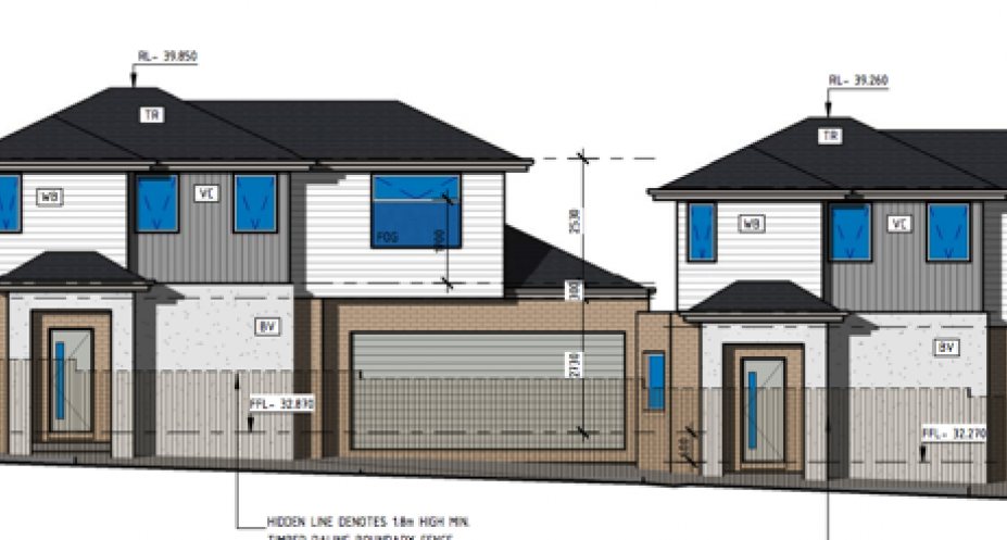 8 Kevin Street, Sunshine. Planning Image: Project Drafting Service