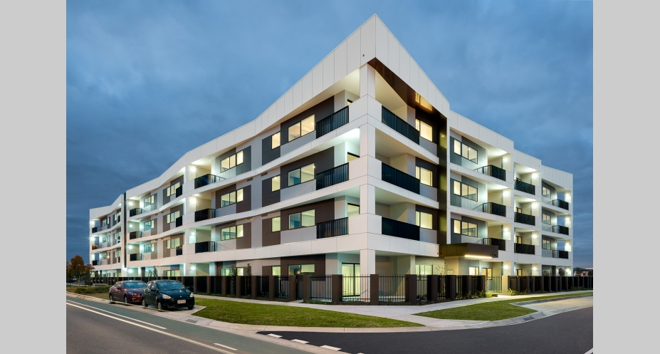 Huntington Apartments - 1408-1418 Centre Road, Clayton South. Image: Cedar Woods