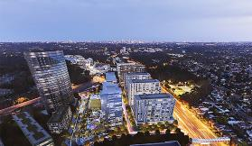 Ganellen tops out Stage 1 of Greenland's Macquarie Park project