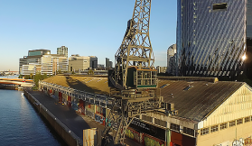 Riverlee restores Melbourne's last remaining original electric crane