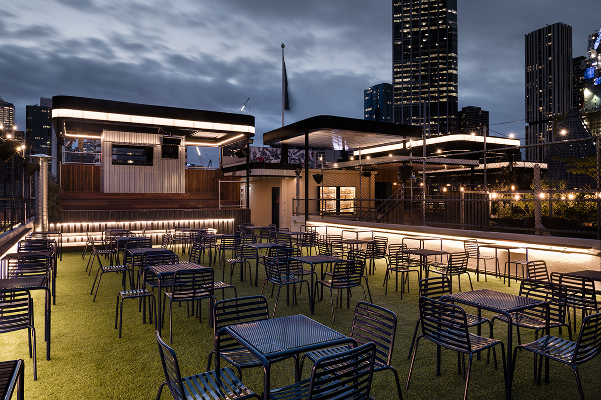 Raising the bar technē revamps rooftop and cinema