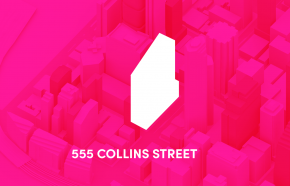 Lurking in the shadows - 555 Collins Street