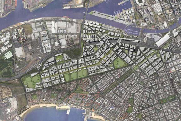 Fishermans Bend to become Australia's most densely populated area