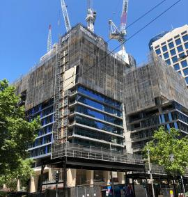 Construction photo of Collins Arch - 447 Collins Street, Melbourne VIC 3000 on 08, January 2019 uploaded by Chris Tomlinson