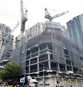Construction photo of West Side Place - 250 Spencer Street, Melbourne VIC 3000 on 19, February 2019
