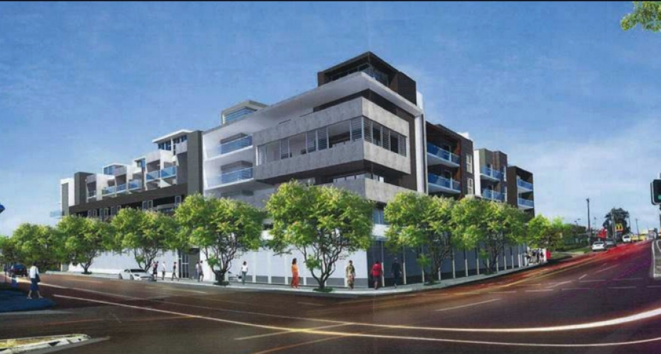1-9 Monash Road, Gladesville. Planning Image: Architecture & Building Works