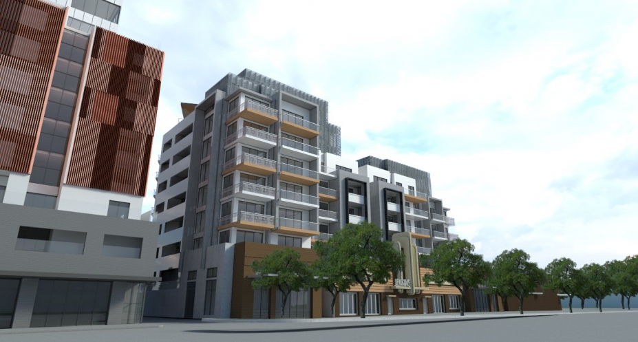 205-211 Queens Parade, Clifton Hills. Image: Petridis Architects