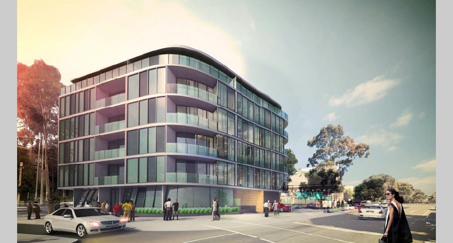 286-288 Kings Way, South Melbourne. Image courtesy Buchan Group
