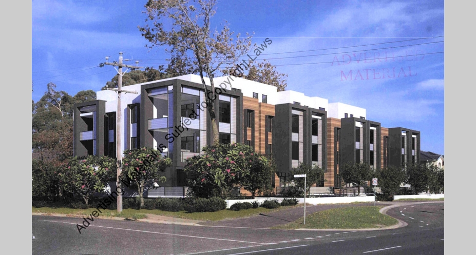 98-106 Westall Road, Springvale. Planning image: IDO Architecture